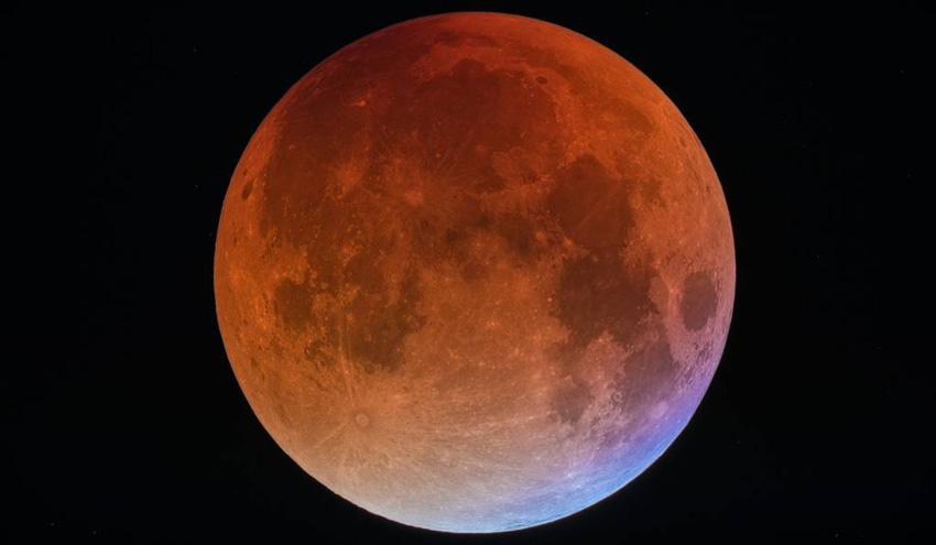 Veja como foi o eclipse da 'Superlua azul de sangue